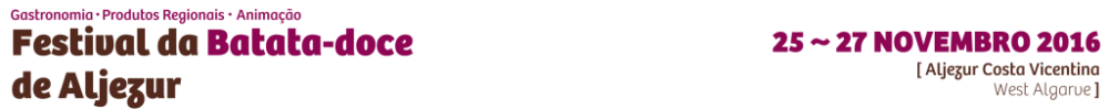 Festival da Batata-doce de Aljezur